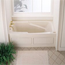 "Cetra® 60"" x 36"" Whirlpool Tub with Integral Skirt"