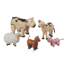 Dollhouse Farm Animal Set