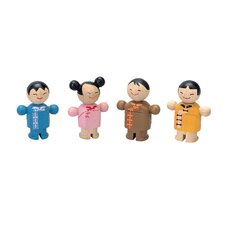 City Family Asian Dolls
