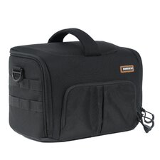 Correspondent Series C-700 Small Shoulder Bag in Black
