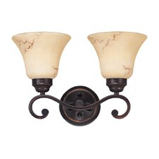 Anastasia 2 Light Vanity Light