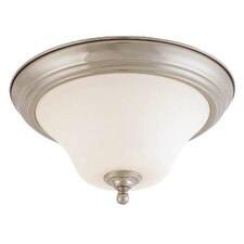 Dupont 2 Light Flush Mount