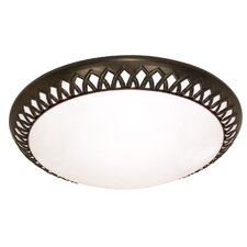 Rustica Energy Star Flush Mount