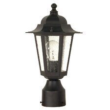 "Cornerstone 1 Light 14.25"" Post Lantern"