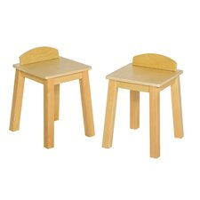 Dramatic Play Kids Café Kitchen Stool (Set of 2)
