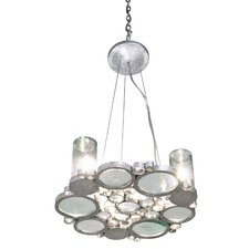 Recycled Fascination 3 Light Chandelier