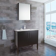 "Maxine 35.88"" Single Bathroom Vanity Set"