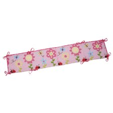 Little Miss Lady Bug Traditional Padded Bumper