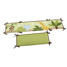 Jungle Time Traditional Padded Bumper