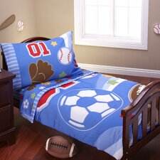 Lil All Star 4 Piece Toddler Bedding Set