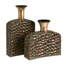 Liana Reptilian Angular Bottles (Set of 2)