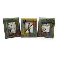 Playful Paisley Picture Frame (Set of 3)