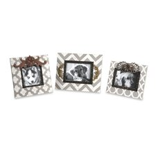 Chevron Picture Frames (Set of 3)