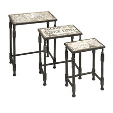 Knoxlin 3 Piece Nesting Tables