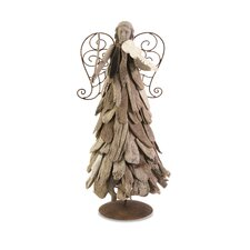 Woodland Driftwood Angel with Violin