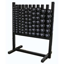VTX Neoprene Dumbbell Aerobic Pac with Rack