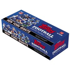 NFL 2008 Factory Trading Card Set - New York Giants (Set of 445)