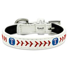 MLB Classic Baseball Dog Collar