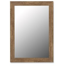 Mirror in Antique Brown Barnwood