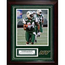 Darrelle Revis Unsigned Turf Collage with Photograph