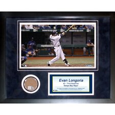 MLB Evan Longoria Mini Dirt Collage