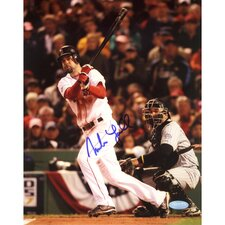 Mike Lowell 2007 World Series Swing Autographed