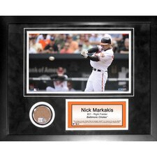 MLB Nick Markakis Mini Dirt Collage