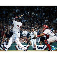 MLB David Ortiz Photograph 2004 ALDS Walk Off Home Run