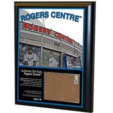 "MLB Rogers Centre 8"" x 10"" Game Used Dirt Plaque"