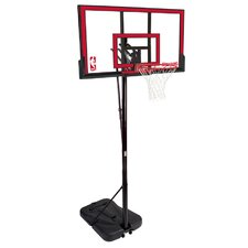 "48"" Portable Polycarbonate Basketball System"