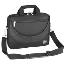 PASSAGE Series Black Compact Laptop Briefcase