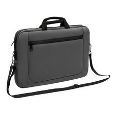 Slim Briefcase with Detachable Shoulder Strap
