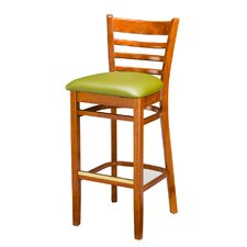 "Beechwood Ladder Back 30"" Bar Stool"