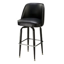 "Ribiero 26"" Metal Swivel Counter Stool"