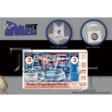 MLB 1967 World Series Mini Mega Ticket - New York Mets