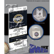 MLB 2009 Yankee Stadium Inaugural Game Mini Mega Ticket - New York Yankees