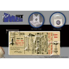 MLB 1926 World Series Mini Mega Ticket - St Louis Cardinals