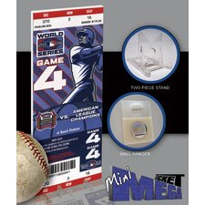 MLB 2006 World Series Mini Mega Ticket - St Louis Cardinals