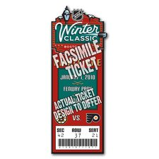 NHL 2010 Winter Classic Mini Mega Ticket - Boston Bruins, Philadelphia Flyers