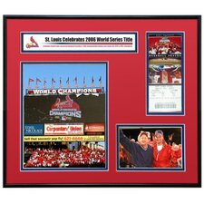 MLB 2007 Opening Day Ticket Frame Jr. - St. Louis Cardinals