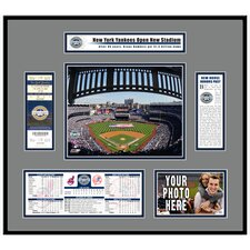 MLB Stadium Inaugural Game 2009 Opening Day Ticket Frame - New Yankees