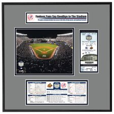MLB Final Game Ticket Frame Jr. - New York Yankees
