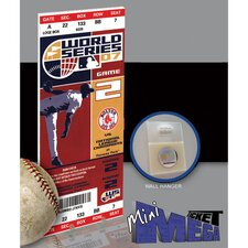 MLB 2007 World Series Mini Mega Ticket - Boston Red Sox
