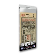 1931 MLB World SeriesSt Louis Cardinals Mini Mega Ticket
