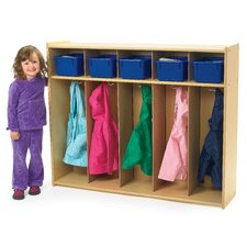 Value Line Toddler 5-Section Locker