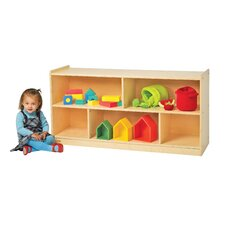 Value Line Birch Mobile Two-Shelf Storage