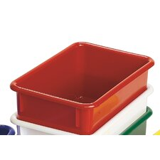 "Value Line 11"" Cubbie Trays in Red"