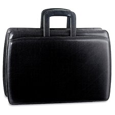 Elements Double Gusset Zip Top Briefcase