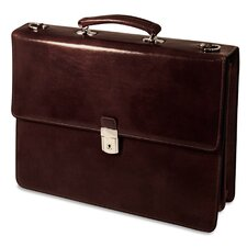 Sienna Double Gusset Flap Over Briefcase