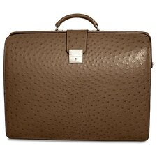 Genuine Ostrich Classic Briefbag